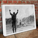 """Rocky Strong // Canvas (16""""H x 20""""W x 1.5""""D)"""