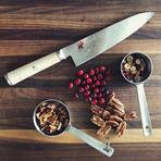 """Miyabi Birchwood // 8"""" Chef's Knife"""