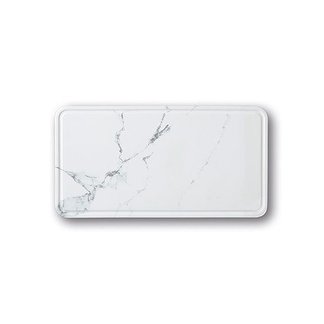 Modulo // Cold Dinner Tray (White Marble)