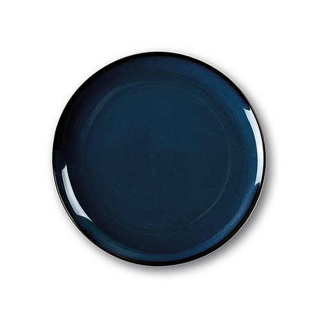 Calido Coupe // Cold Dinner Plate Set // Ocean Blue (Set of 4)