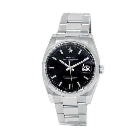 Rolex Date Automatic // 115200 // V Serial // Pre-Owned