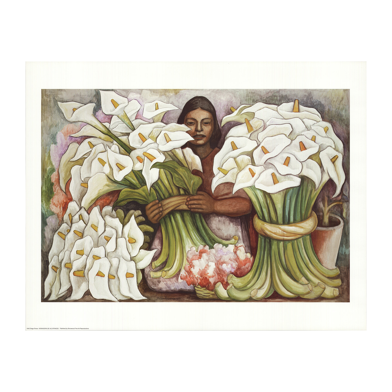 Diego Rivera Vendedora de Alcatraces (Salesman of Gannets