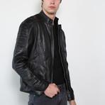 Skywalker Pilot Limited Edition Leather Jacket // Black (2XL)