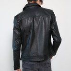 Future Trunks Limited Edition Leather Jacket // Black (S)