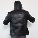 Green Arrow Limited Edition Leather Jacket // Black (XL)