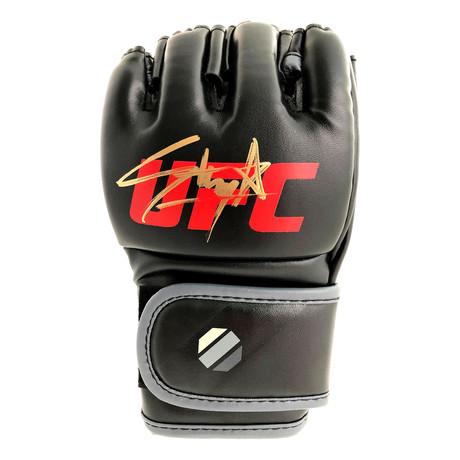 Israel Adesanya // Autographed UFC Glove