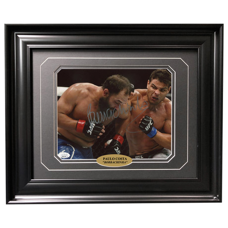 Paulo Costa // Autographed + Framed Photo