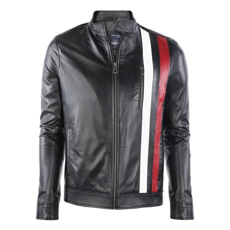 Sedona Leather Jacket // Black (XS)