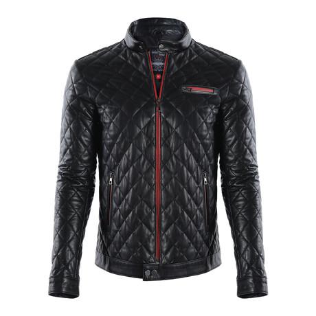 Mojave Leather Jacket // Black (XS)