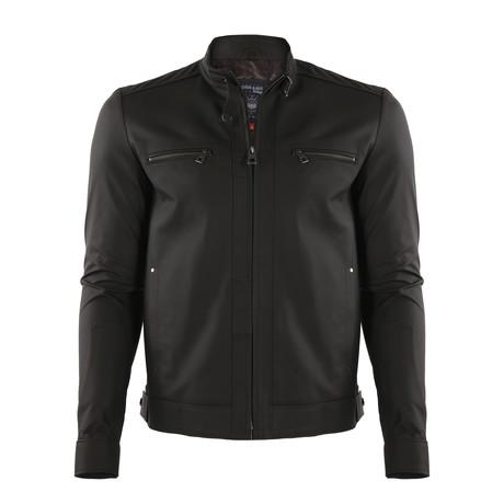 Denali Leather Jacket // Brown (XS)