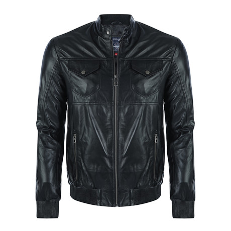Butte Leather Jacket // Black (XS)