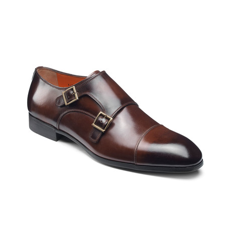 Inca Monk Strap // Brown (US: 7)