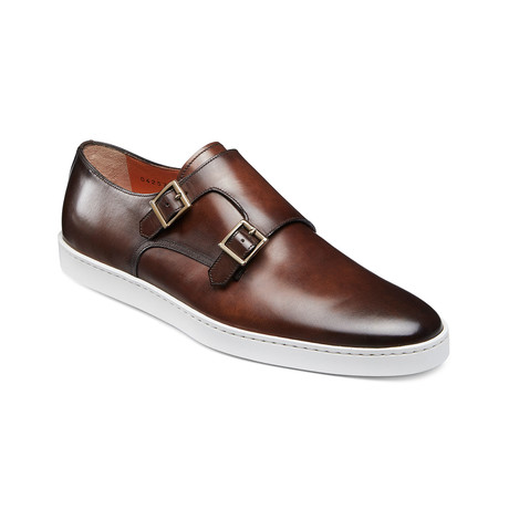 Freemont Monk Strap // Brown (US: 7)