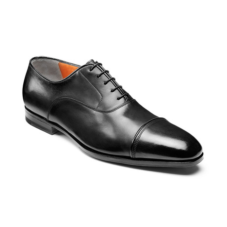 Iafet Cap Toe // Black (US: 7)
