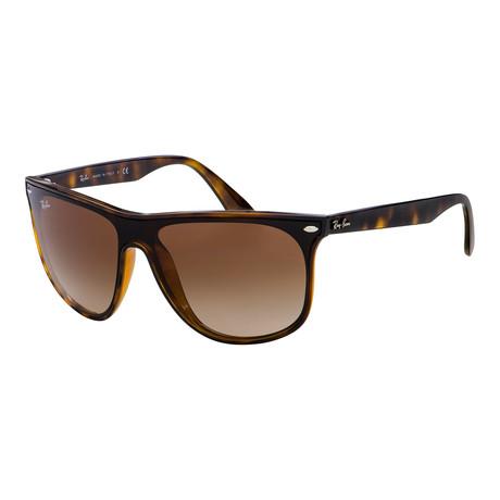 Men's RB4447N-710-13-40 Sunglasses // Havana + Red