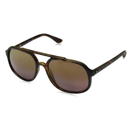 Men's RB4312CH-894-6B-57 Sunglasses // Matte Havana + Brown