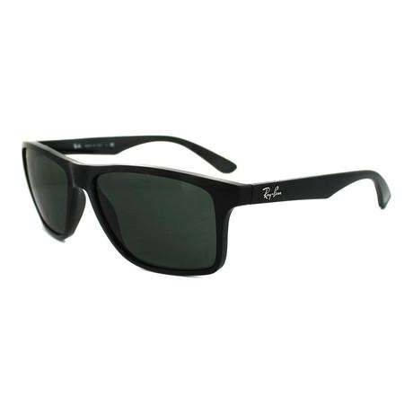 Men's RB4234-601-71-58 Sunglasses // Black + Green