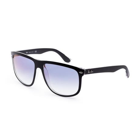 Men's RB4147-6039X060 Sunglasses // Black + Light Blue