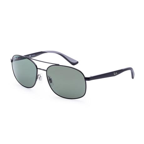 Men's RB3593-002-9A-58 Sunglasses // Black + Gray