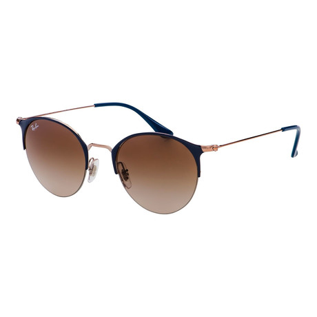 Women's RB3578-917513-50 Sunglasses // Copper + Dark Blue + Ruby