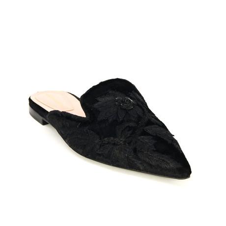 Mules // Black (Euro: 35)
