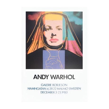 Andy Warhol // Ingrid The Nun // 1983 Offset Lithograph