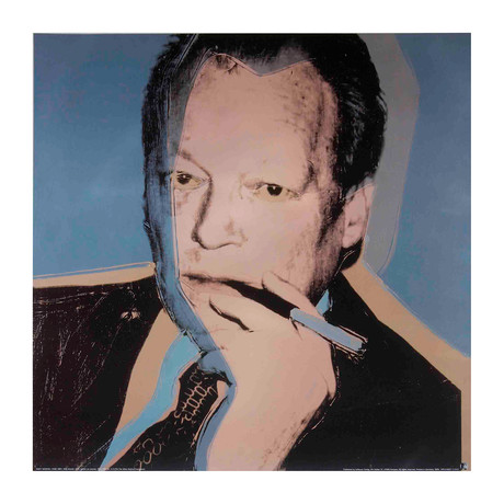 Andy Warhol // Willy Brandt // Offset Lithograph
