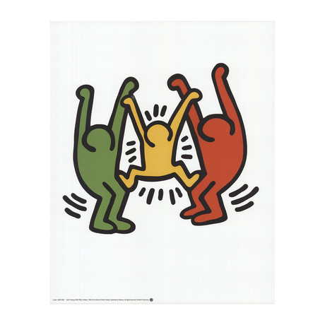 Keith Haring // Untitled, 1985 // Offset Lithograph