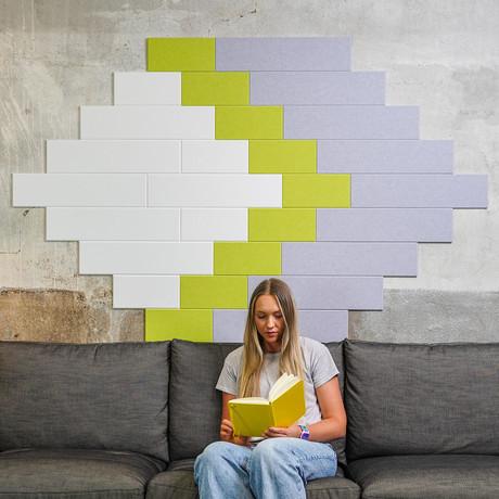 Felt Right Wall Art // Starscape