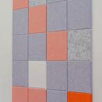Felt Right Wall Art // Grapefruit Sparkly