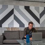 Felt Right Wall Art // Gray Vector