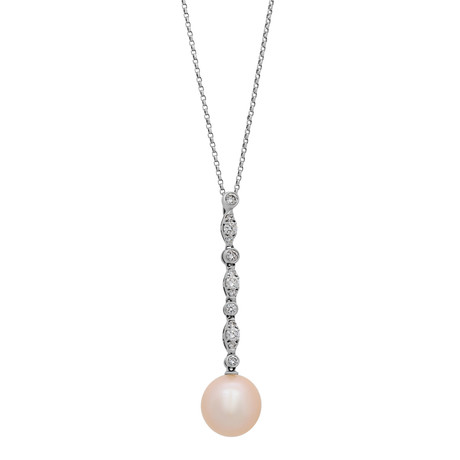 Assael 18k White Gold Pearl Necklace III
