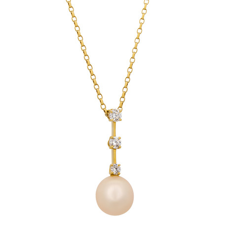 Assael 18k Yellow Gold Pearl Necklace I