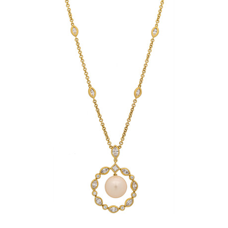 Assael 18k Yellow Gold Pearl Necklace VI