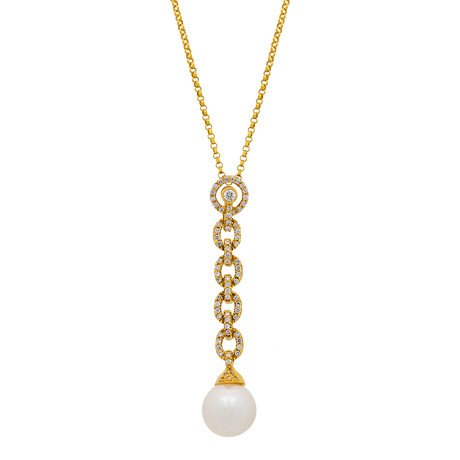 Assael 18k Yellow Gold Pearl Necklace II