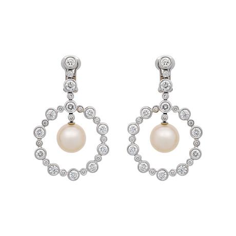 Assael 18k White Gold Pearl Earrings VI