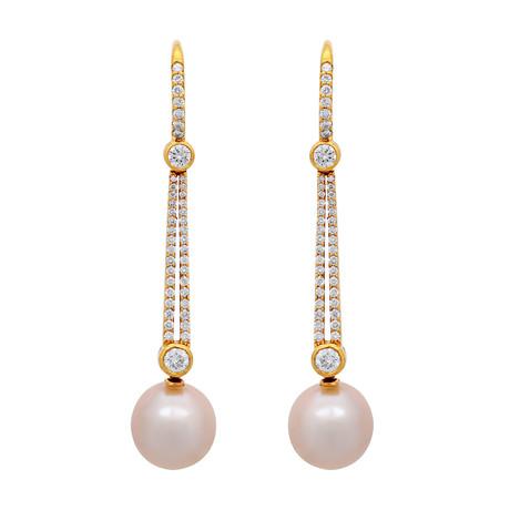 Assael 18k Yellow Gold Pearl Earrings III