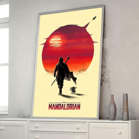 "The Mandalorian (11""W x 17""H)"