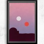 """Star Wars Original Trilogy // Minimalist Poster Set (11""""W x 17""""H)"""