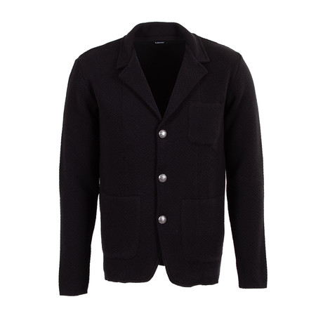 Ronald Tricot Cardigan // Black (S)