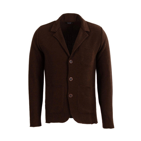 Claud Tricot Cardigan // Brown (S)