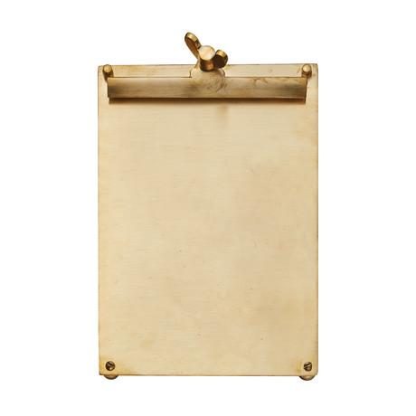 Scribner Notepad // Brass (Large)