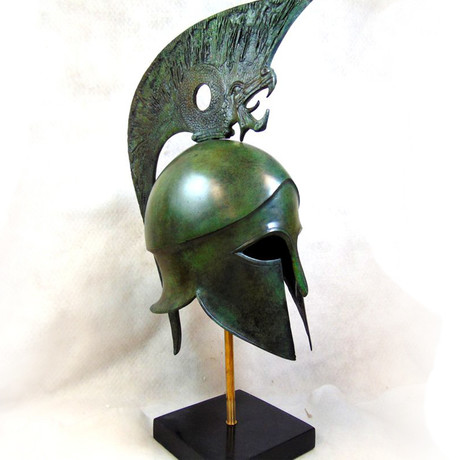 Thracean Full Size Helmet // Griffin Crest (Without Stand)