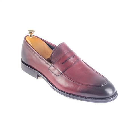 Chad Loafer // Burgundy (Euro: 38)