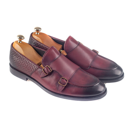 Guadalupe Loafer // Burgundy (Euro: 38)