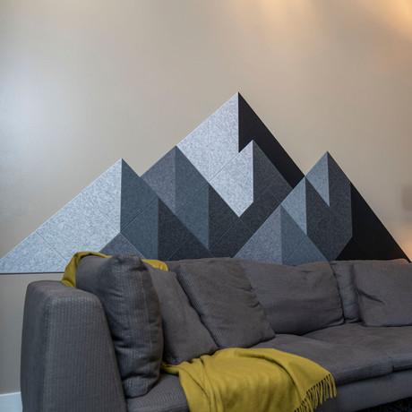 Felt Right Wall Art // Shaded Mountain