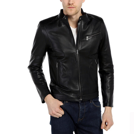 Kony Leather Jacket // Black (XS)