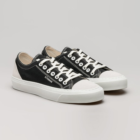 Full Color Canvas Sneakers V2 // Black (Euro: 36)