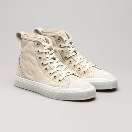 Canvas Sneakers V4 // Antique White (Euro: 36)
