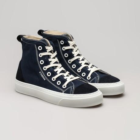 Canvas Sneakers V2 // Marine Blue (Euro: 36)